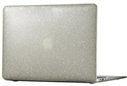 SPECK MACBOOK AIR 13'' SMARTSHELL - CLEAR WITH GOLD GLITTER