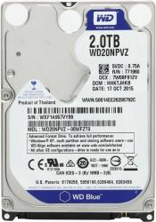hdd western digital wd20npvz blue 2tb 25 sata3 photo