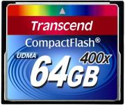 transcend ts64gcf400 64gb compact flash card ultra 400x photo