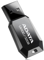 adata dashdrive uv100 32gb usb20 flash drive black photo
