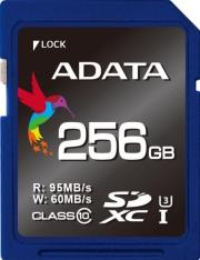 adata premier pro 256gb sdxc uhs i u3 class 10 photo