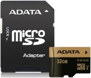 adata xpg 32gb micro sdhc uhs i u3 class 10 with adapter photo