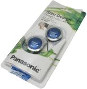 panasonic rp hs47e a clip on earphones blue photo