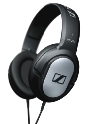 sennheiser hd 201 black photo