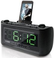 coby csmp120 alarm clock radio for ipod photo