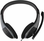 mediatech mt3562 lectus stereo headset with mic photo