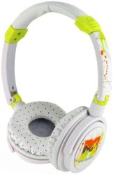 mtv new wave gold splash headphones white photo