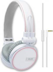 akoystika headset iluv rockefeller jeans white photo