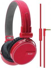 akoystika headset iluv rockefeller jeans red photo
