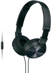 sony mdr zx310apb headphones black photo