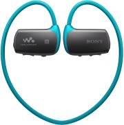 sony nwz ws613l 4gb mp3 walkman with bluetooth blue photo