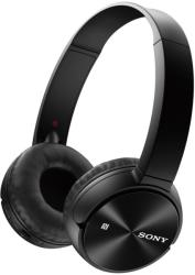 sony mdr zx330bt headphones black photo