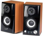 genius sp hf500a wooden pc speakers photo