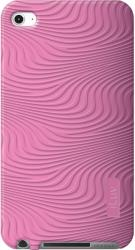 iluv icc613 moxie soft patterned silicone case for ipod touch 4 pink photo