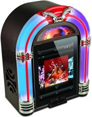 ion audio jukebox dock for ipad iphone ipod photo