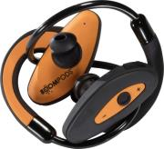 boompods spora sportpods black orange photo