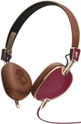 skullcandy navigator maroon brown copper with mic3 photo