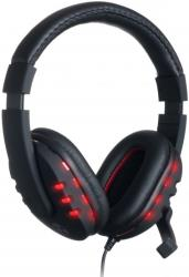 connect it ci 205 gaming headset battle gh1000 black photo