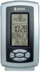 konig kn ws100n thermo hygrometer weather station photo