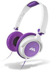 meliconi 497387 mysound hp smart stereo headphones white purple photo