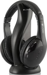 logic lh 50 wireless headphones with built in fm radio photo