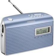 grundig music 7000 dab digital radio blue silver photo