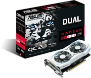 vga asus amd radeon rx460 dual rx460 o2g 2gb gddr5 pci e retail photo