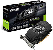 VGA ASUS PHOENIX GEFORCE GTX1050 TI PH-GTX1050TI-4G 4GB GDDR5 PCI-E RETAIL υπολογιστές   κάρτες γραφικών