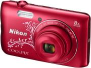 nikon coolpix a300 red ornament photo