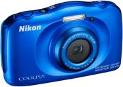 nikon coolpix w100 blue photo