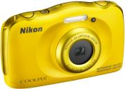 nikon coolpix w100 yellow photo