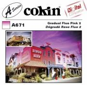 cokin filter a671 gradual fluo pink 2 photo