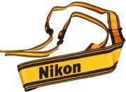 nikon an 6y shoulder strap black yellow photo