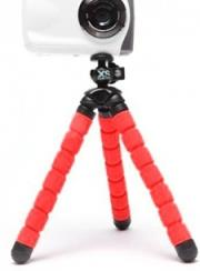 xsories bendy camera tripod red photo
