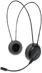 crypto hs 250 dual function on ear headset black photo