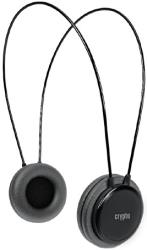 crypto hp 100 on ear headphone black photo