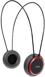 crypto hp 100 on ear headphone black red photo