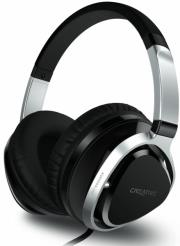 creative aurvana live2 over the ear headset black photo