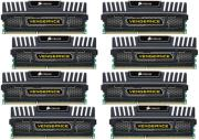 ram corsair cmz32gx3m8x1600c9 vengeance xmp 32gb 8x4gb pc3 12800 octo channel kit black photo