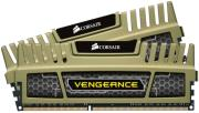 ram corsair cmz8gx3m2a1600c9g vengeance xmp 8gb 2x4gb pc3 12800 dual channel kit green photo