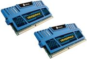 ram corsair cmz16gx3m2a1600c10b vengeance blue 16gb 2x8gb ddr3 1600miz dual channel kit photo