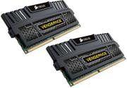 ram corsair cmz16gx3m2a1600c9 vengeance 16gb 2x8gb ddr3 1600miz pc3 12800 dual channel kit photo