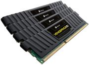 ram corsair cml32gx3m4a1866c10 32gb 4x8gb ddr3 1866mhz vengeance black quad channel kit photo