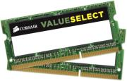 ram corsair cmso8gx3m2c1600c11 value select 8gb 2x4gb so dimm ddr3l 1600mhz dual channel kit photo