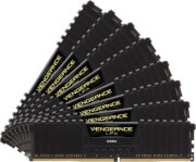 ram corsair cmk128gx4m8a2400c14 vengeance lpx black 128gb 8x16gb ddr4 2400mhz octa channel kit photo