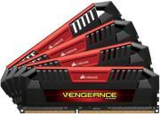 ram corsair cmy32gx3m4c1866c10r vengeance pro red 32gb 4x8gb ddr3l 1866mhz quad channel kit photo