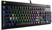 pliktrologio corsairstrafe rgb mechanical gaming keyboard cherry mx brown eu version photo