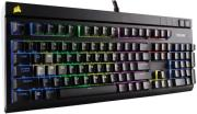 pliktrologio corsairstrafe rgb mechanical gaming keyboard cherry mx silent eu version photo