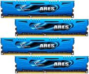 ram gskill f3 2133c10q 16gab 16gb 4x4gb ddr3 2133mhz cl10 ares quad channel kit photo