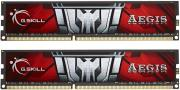 ram gskill f3 1600c11d 16gis 16gb 2x8gb ddr3 pc3 12800 1600mhz aegis dual channel kit photo